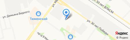 Аптека на карте Тюмени