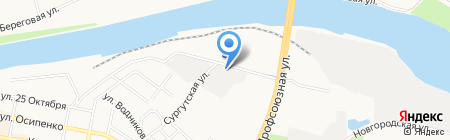 ВИАН на карте Тюмени