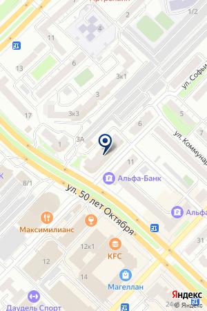 САЛОН ДВЕРЕЙ БРОНЯ на карте Тюмени