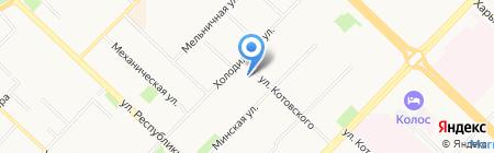Аптека+ на карте Тюмени