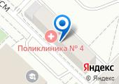 Городская поликлиника №4 на карте