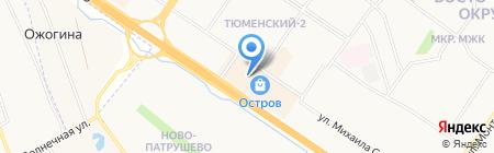 РОСПРОКАТ компания по продаже на карте Тюмени