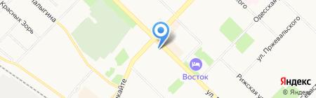 Почтовое отделение №26 на карте Тюмени