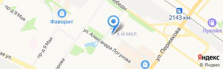 RestorFX на карте Тюмени