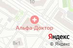 Схема проезда до компании Московская Ярмарка в Тюмени