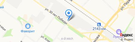 Вимм-Билль-Данн на карте Тюмени
