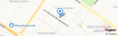 Maria на карте Тюмени