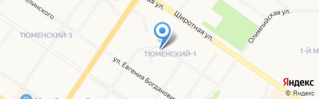 Автопрокат-Тюмень на карте Тюмени