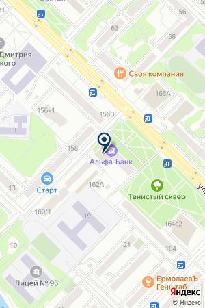 СТОЛИЦА ПУТЕШЕСТВИЙ на карте Тюмени