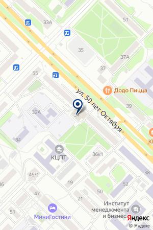 БАНКОМАТ РОСБАНК на карте Тюмени