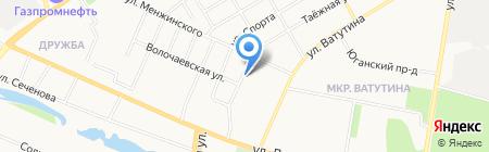 Магазин картографической продукции на карте Тюмени