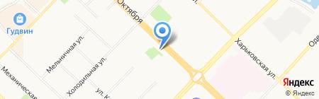 София на карте Тюмени