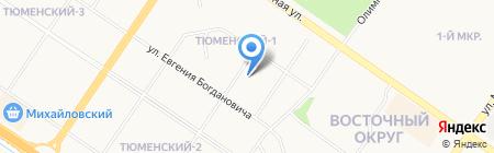 Автоаптека на карте Тюмени