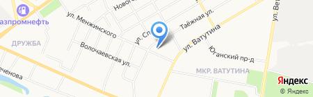 Детский сад №133 на карте Тюмени