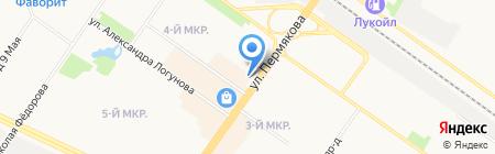 СИМПАТЕКС на карте Тюмени