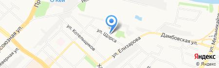 Визит на карте Тюмени