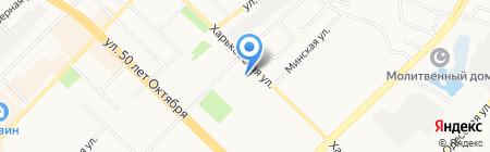 Джбанек на карте Тюмени
