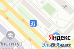 Схема проезда до компании Paradise в Тюмени