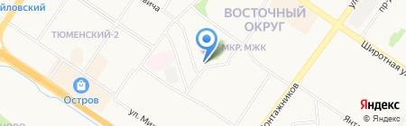 Mebelin на карте Тюмени