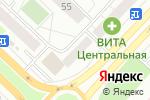 Схема проезда до компании Салон срочного фото в Тюмени