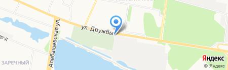 Автомаг на карте Тюмени