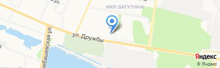 Запсибкомбанк на карте Тюмени