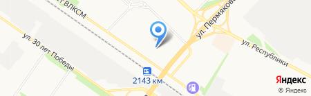 Элитный дом на карте Тюмени