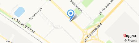 Даром.ru на карте Тюмени