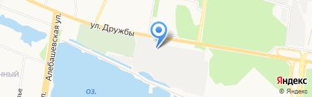 ТОЭЗГП на карте Тюмени