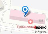 Городская поликлиника №8 на карте