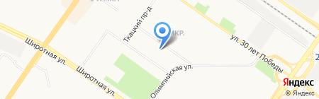 Ёжик на карте Тюмени
