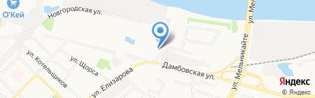 НОВАЯ РЕКЛАМА на карте Тюмени