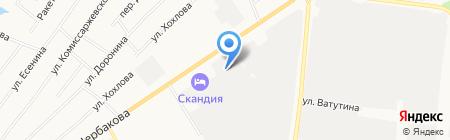 Реагент на карте Тюмени