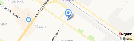 Д-Марк на карте Тюмени