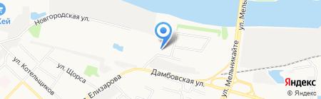 АвтоЛюкс на карте Тюмени