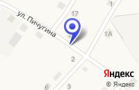 Схема проезда до компании АМБУЛАТОРИЯ НА СТАНЦИИ ШУМИХА в Белозерском