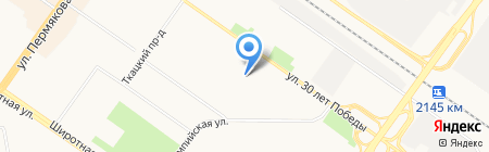 Детский сад №132 на карте Тюмени