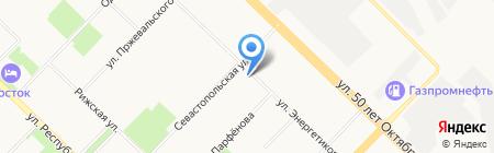 Бережная аптека на карте Тюмени