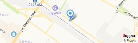 Ритм на карте Тюмени