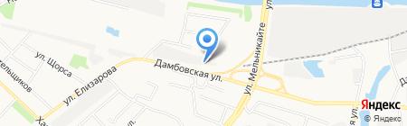АвтоТехЦентр на карте Тюмени