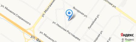 Суходолье на карте Тюмени