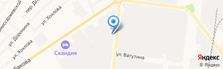 Электрика на карте Тюмени