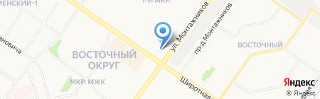 Валентина на карте Тюмени
