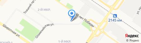 Гардеробчик на карте Тюмени