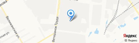Мастер на карте Тюмени