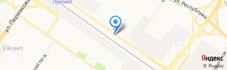 Автоэкзотика на карте Тюмени