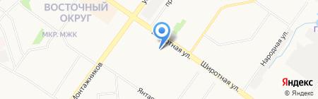 Русь на карте Тюмени