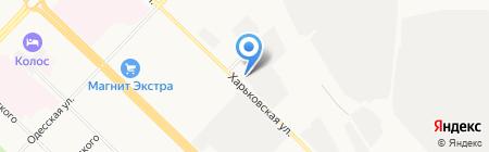 Тюмень ПЭТ на карте Тюмени