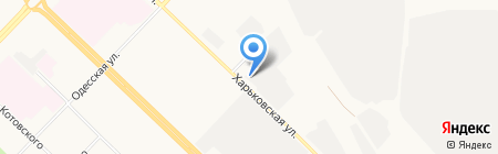 Альтекс на карте Тюмени