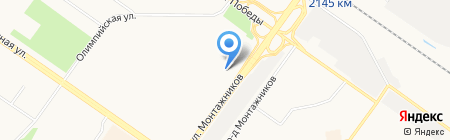 Баргузин на карте Тюмени